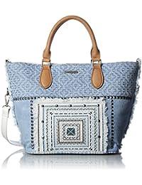 Desigual Damen BOLS_FLORIDA WHITNEY Henkeltasche Blau (5002)