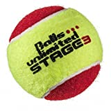 Balls ... unlimited Stage 3 (rot) Kinderbälle, Trainingsbälle 75% Druckreduziert, Methodikbälle - 60er Beutel