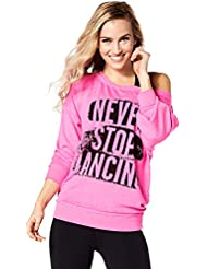 Zumba Fitness Never Stop Dancing Sweat-Shirt Femme