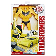 Transformers Bumblebee Titan Changer | 2 Steps | Robots In Disguise | Combiner Force | Download The App - Scan - Unlock & Play! |