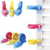 yuver (TM) 3pcs color al azar de seguridad Helper bebé puerta parada dedo pizca guardia niño Kid infantil para seguridad pantalla puerta