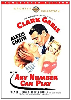 Any Number Can Play (Remastered) by Clark Gable