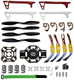 #7: SunRobotics F450 Quadcopter Frame Kit with A2212 KV1000 Brushless Motor and 4 30A ESC and 2 Pair 1045 Propeller