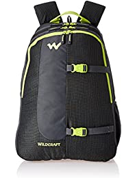 Wildcraft Polyester 36 Ltrs Black School Backpack (WC 4 Latlong 4) bb78454bc8