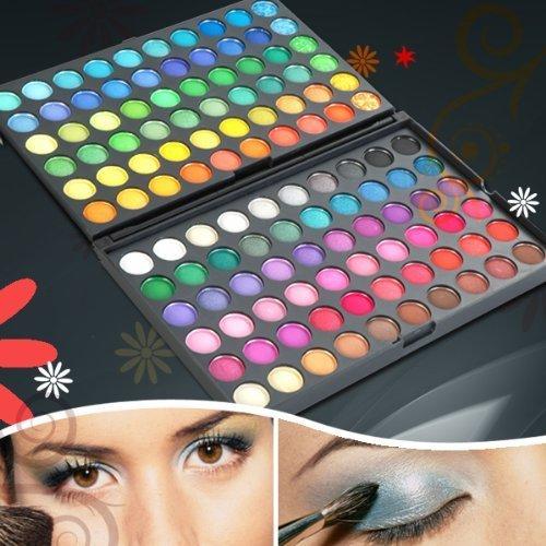 Itian 120 Farben Lidschatten Make-up-Palette, Universal Kit for Make-up Lovers, Anfänger und Professionelle Maskenbildner (01#) -