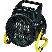 Bomann HL 1120CB, Termoventilatore ceramico, Interruttore a 4Livelli, Termostato regolabile, 2Livelli di Riscaldamento (1000/2000W ventilatore), funzione