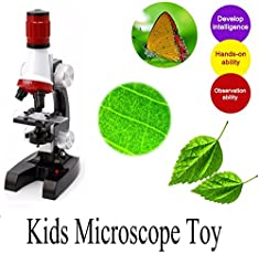 Karp Educational 100X and 1200X Magnification Science Microscope Toy