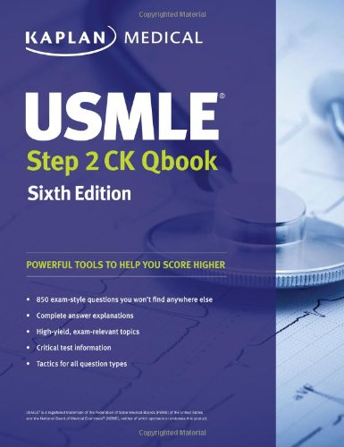 USMLE Step 2 Ck Qbook (Kaplan Medical)