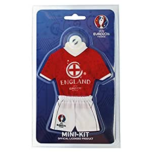 UEFA EURO 2016 – Minitrikot mit Saugnapf – ENGLAND – 18 cm