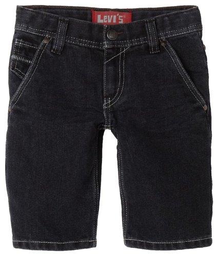 Levi\'s 514 Kinder Sommer Shorts Hose Denim Jeans Blau Slim Straight 122