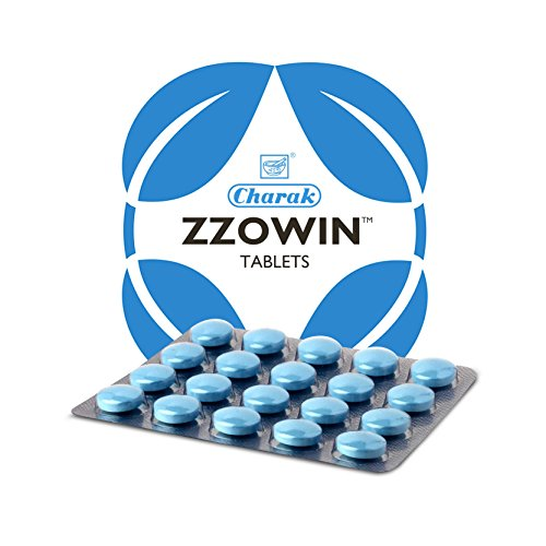 Charak Zzowin 40Tablets (Ayurvedic) - Natural Sleep Inducer