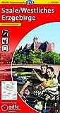 ADFC-Radtourenkarte 13 Saale /Westliches Erzgebirge 1:150.000, reiß- und wetterfest, GPS-Tracks Download und Online-Begleitheft (ADFC-Radtourenkarte 1:150000)