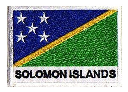Patch Flagge Salomon Inseln