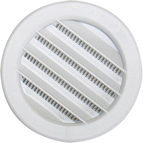 Grille plastique universelle à encastrer DMO - Diamètre 80 mm