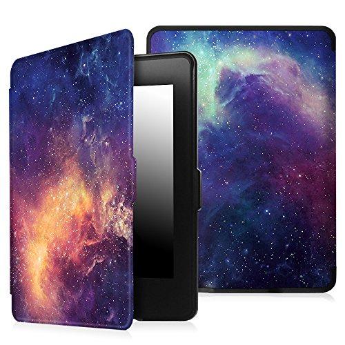 Fintie Etui Kindle Paperwhite - étui Cover Flip super fin et léger, fermeture magnétique avec mise en veille automatique pour Amazon All-New Kindle Paperwhite (Convient à touts les versions: 2012, 201 Z -Galaxy