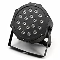LAMF 1 Pack Par Lights For Stage Lighting, DJ LED light for Dancing Bar Club Party Disco, Suitable for American Standard Plug