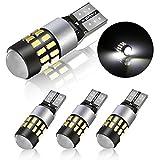 POMILE LED Ampoules de Voiture T10 W5W DC12V - 24V 3014 Chipsets LED Veilleuse Canbus...
