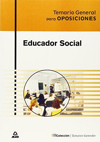 Educador Social. Temario General por Varios Varios