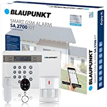 Blaupunkt - SA 2700 - Kit alarma de seguridad. transmisión via GSM 100% analámbrica, App Gratuita Connect2Home de Blaupunkt