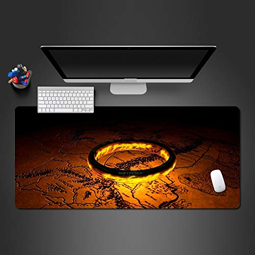 80*40cm*3mmDer Ring auf der Karte Mauspad Dasl Quick Gaming Mouse Pad Computer-TastaturMauspads -