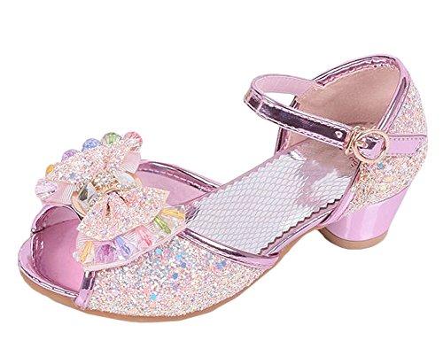 Scothen Sandales filles,sandales renversent doux pantoufles plat Bohême tongs enfants sandales chaussures pour enfants d'été des enfants de plage Pricness chaussures marche plein baskets Ballerina pink