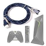 DURAGADGET Cable HDMI De Audio Y Vídeo para Android TV gaming - Nvidia Shield - 1.4m - Conexiones...