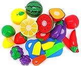Sannysis ® Cortar Frutas Verduras Juego - juguetes educativos para niño