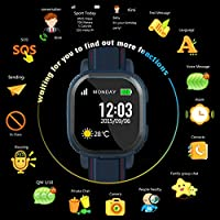 GPS Smart Kid Safe per Smart Watch orologio da polso sos chiamata Location Finder Locator Tracker per bambini anti lost Monitor Baby Son