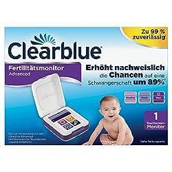Clearblue Fertilitätsmonitor Advanced, 1 Touchscreen-Monitor