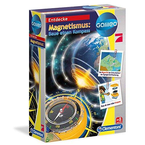 Galileo Magnetismus - Bausatz für einen Kompass • Magnete Experimentierkasten Entdecken Kinder