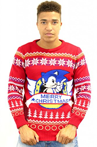 classic-sonic-official-christmas-jumper-sweater-x-small
