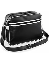 BAG-BASE - sac bandoulière MESSENGER style rétro - BOWLING - BG91 - mixte homme/femme