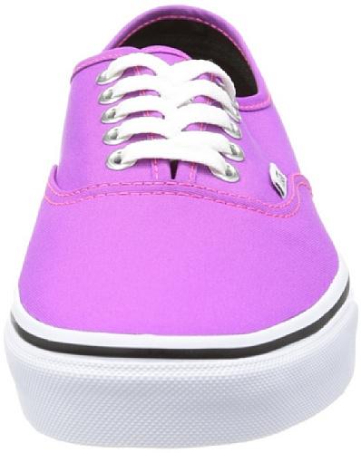 Vans U AUTHENTIC VTSV8PX Unisex-Erwachsene Sneaker Violett (neon Purple/t)