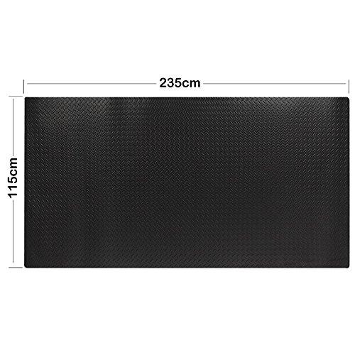 Fußmatte Bodenbelag, Gym (Groß 115x 235cm Mehrzweck-EVA Schaumstoff Fußmatte Rolle Anti Müdigkeit Sicherheit Play Matten wasserabweisend,, 1 Packung)
