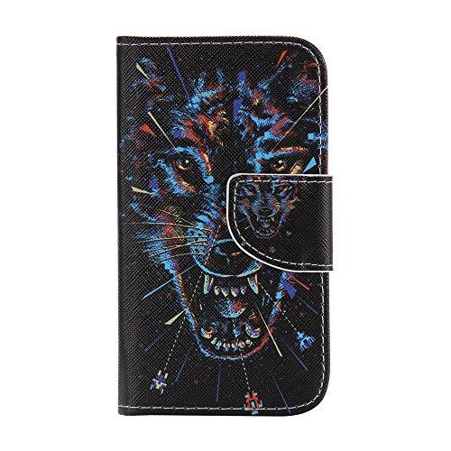 Jepson Samsung Galaxy Core Prime (SM-G360 / SM-G361) (4.5 pouces) coque , PU Cuir Portefeuille Etui Housse Case Cover , carte de crédit Fentes pour , L'utilisation de la technologie de pointe , idéal pour protéger votre téléphone ,