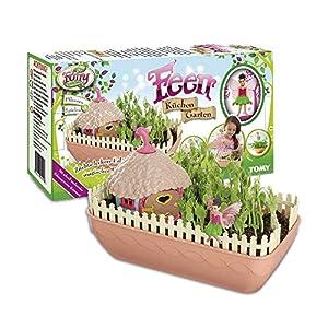 My Fairy Garden - Fairies Kitchen Garden Juego de cocina Juego de juguete para niños de 4 años a las propias plantas. Jugar Consume Breeding Research incl. Semilla de guisante