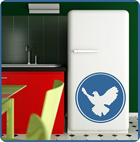 aube Peace Zeichen Wandaufkleber Aufkleber Friedenssymbol 60cm in 33 Farben matt oder glänzend ()