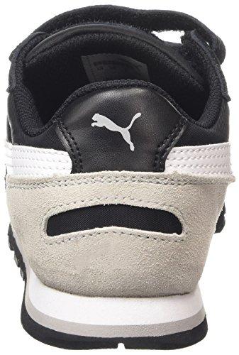 Puma ST Runner NL V Kids Unisex-Kinder Sneakers Schwarz (black-white-drizzle 05)