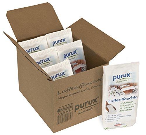 Purux Luftentfeuchter Granulat 4kg Entfeuchter Raumentfeuchter