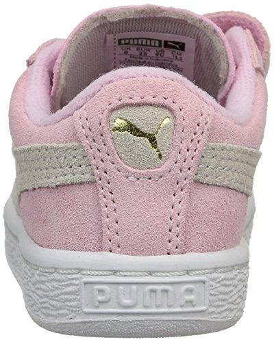 Puma 356274, Baskets Basses Fille Rose (Pink Lady/Team Gold)