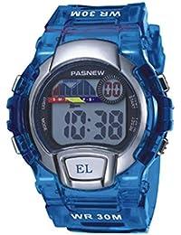 Reloj electrónico del estudiante / reloj al aire libre de los deportes / reloj de los niños / tabla impermeable del varón / de la hembra , deep blue