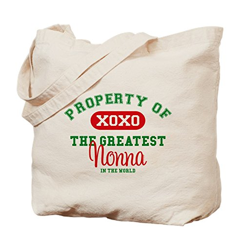 CafePress - Property of Nonna - Natural Canvas Tote Bag, Cloth Shopping Bag