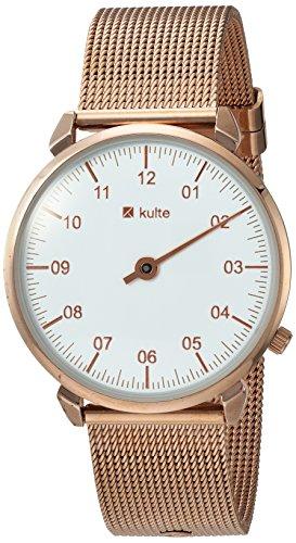 Kulte quarzo acciaio inossidabile Watch, colore: rosa Gold-toned (modello: kpvd2)