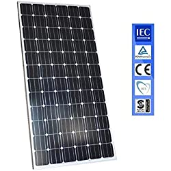 wccsolar.es Panel Solar 330w Placa Solar Fotovoltaico Monocrystalline 72 Celulas