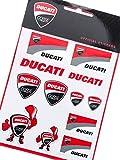 NEU. Ducati Corse offiziellen Aufkleber Blatt–Verschiedene Aufkleber zu Stick Überall.