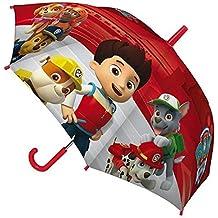 Paw Patrol 45cm Junior paraguas (Rojo)