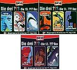 Die Drei ??? (Fragezeichen) - Folgen 28-36 (3 CD Box 10+11+12) im Set - Deutsche Originalware [9 CDs]