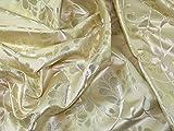 Minerva Crafts Floral Gewebe der Metallic Brokat Kleid