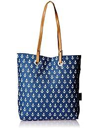Kanvas Katha Women's Tote Bag (Navy) (KKSTAUG001)