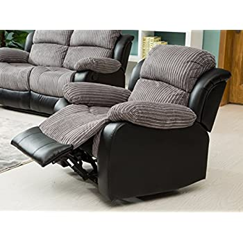 Lovesofas New Luxury California 3 2 1 Jumbo Cord/Faux Leather Recliner Sofa Variations -  sc 1 st  Amazon UK & Lovesofas New Luxury California 3 2 1 Jumbo Cord/Faux Leather ... islam-shia.org